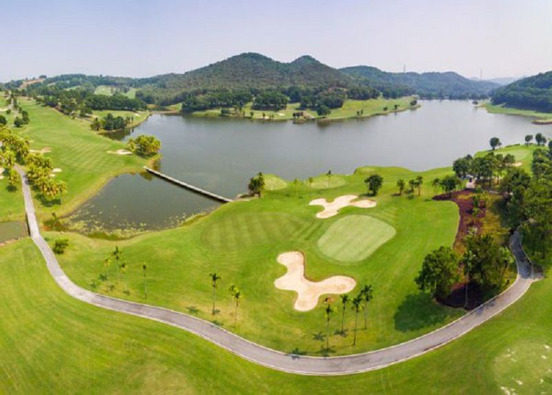 Đây là địa điểm có diện tích lớn nhất trong số các sân golf ở Vĩnh Phúc