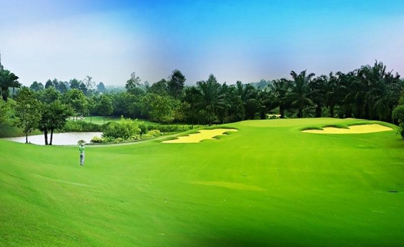 Sân golf Vũng Tàu Paradise với cảnh đẹp yên bình tạo cảm giác thoải mái cho golfer