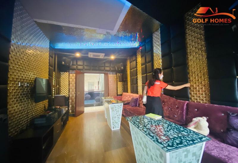 Giám Đốc Dự Án khảo sát phòng Gòl 3D kết hợp giải trí Karaoke
