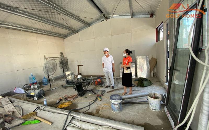 Golfhomes thi công, lắp đặt phòng Golf 3D tại Hà Nam