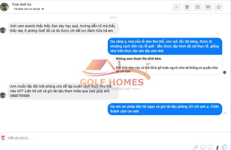 Cơn mưa lời khen dành cho HLV Son Min Ho trong sự kiện Golf From Home