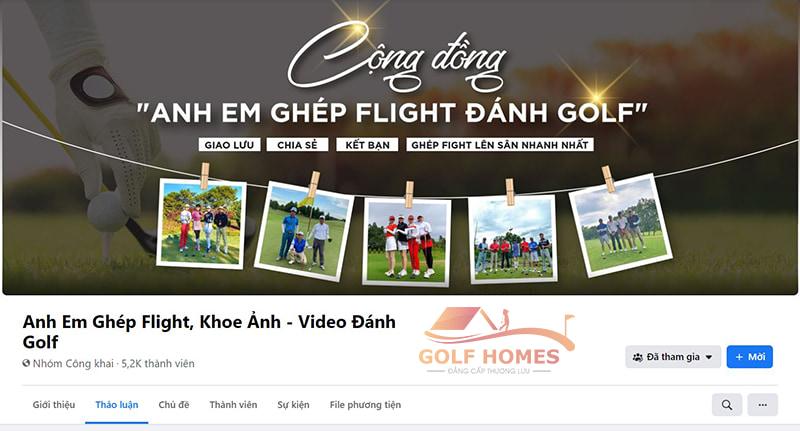 """Nhóm """"Anh Em Ghép Flight, Khoe Ảnh - Video Đánh Golf"""" cùng chia sẻ những hình ảnh, video trong sự kiện"""