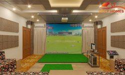 Bản vẽ phối cảnh 3D cho phòng Golf 3D MS9