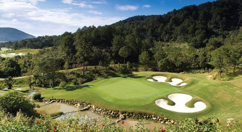 Sân golf Đà Lạt 1200 thu hút sự chú ý của nhiều golfer