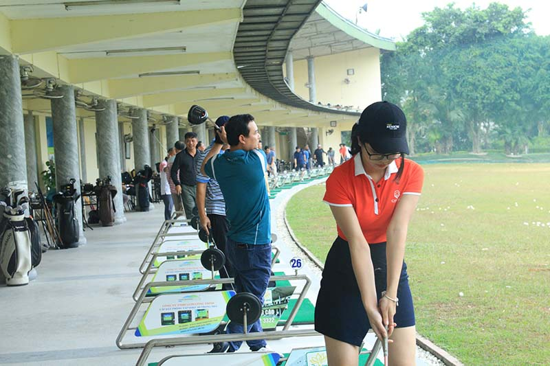 Sân golf Đảo Sen là một trong những sân golf lớn nhất Việt Nam
