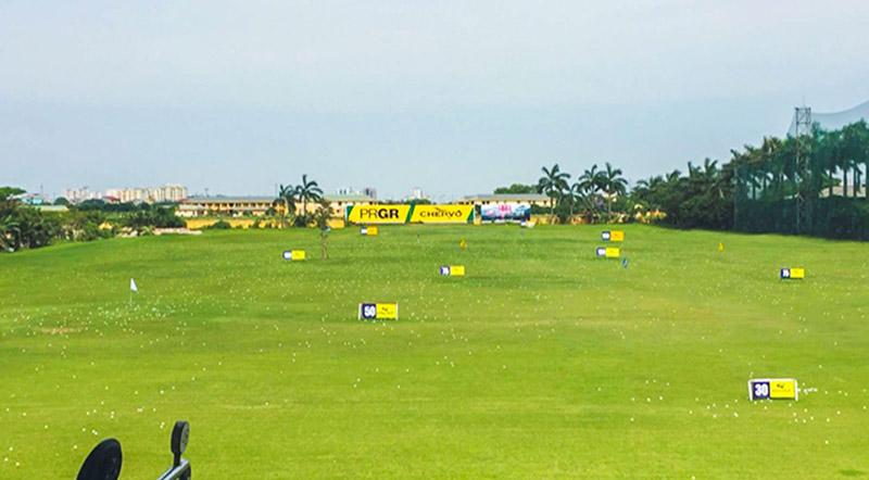 Sân tập golf có quy mô hoành tráng