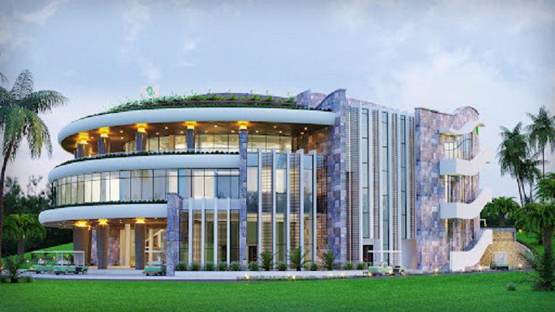 Thiết kế nhà câu lạc bộ của sân golf