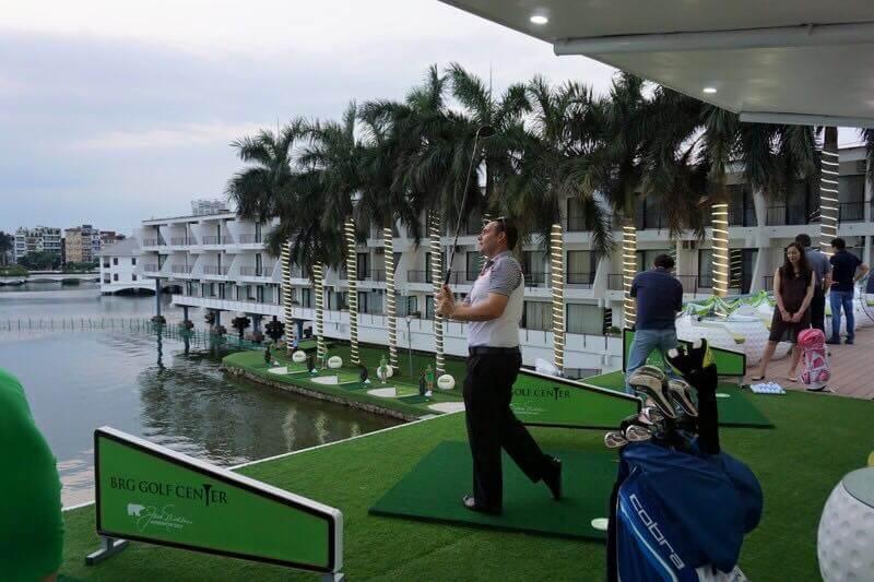 Sân tập golf khách sạn Thắng Lợi và những điểm độc đáo trong thiết kế