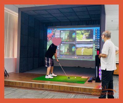 Phòng Golf 3D Golfhomes Platinum UDR 4.0 Royal Ở Long Biên, Hà Nội