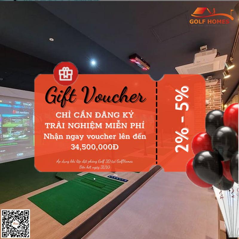 GolfHomes tung voucher lên đến 35 triệu đồng