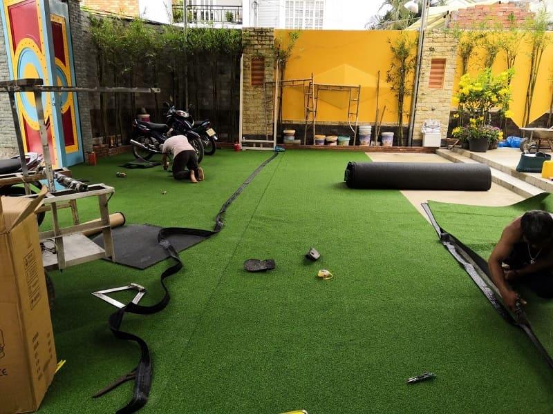Sân tập đánh golf dành cho doanh nghiệp có thể phù hợp cho số lượng người chơi lớn