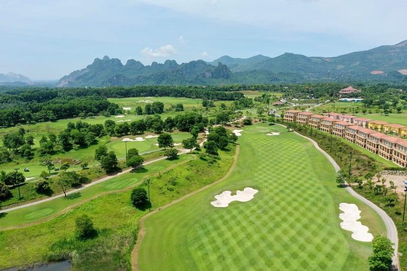 Kích thước sân tập golf linh động dựa vào loại hình sân tập