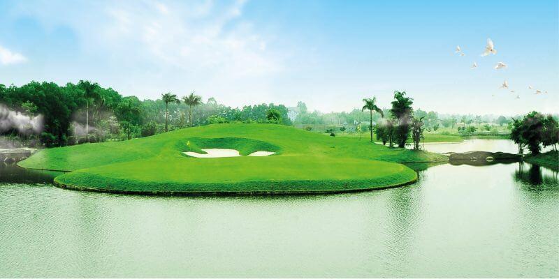 Không khí thoáng mát, trong lành, hấp dẫn golfer