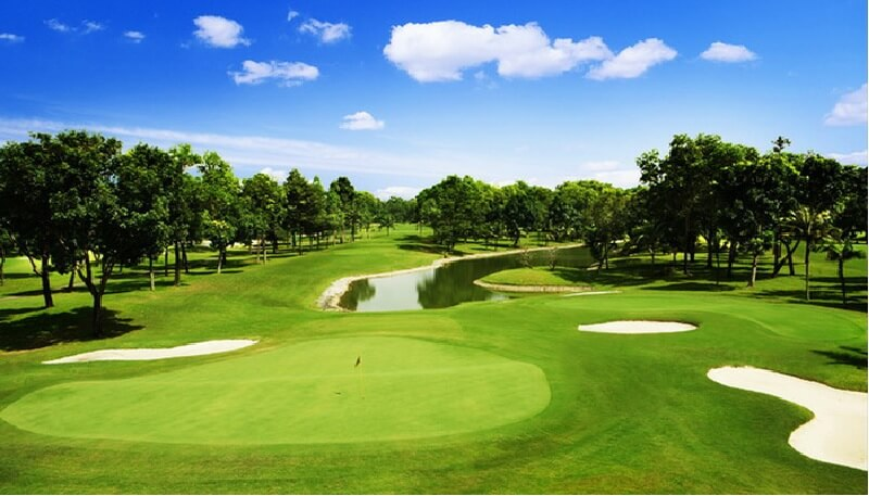 Chủ đầu tư xây dựng nhiều công trình phục vụ cho sân golf