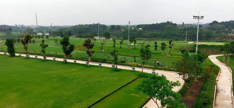 Sân golf Hưng Hà được xây dựng đúng theo quy định
