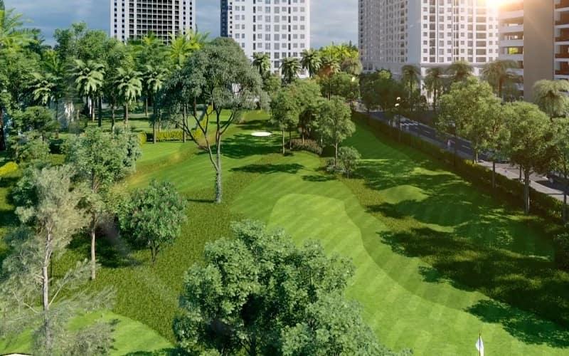 Sân tập golf Eco Lake View là địa điểm luyện tập được các golfer đánh giá cao