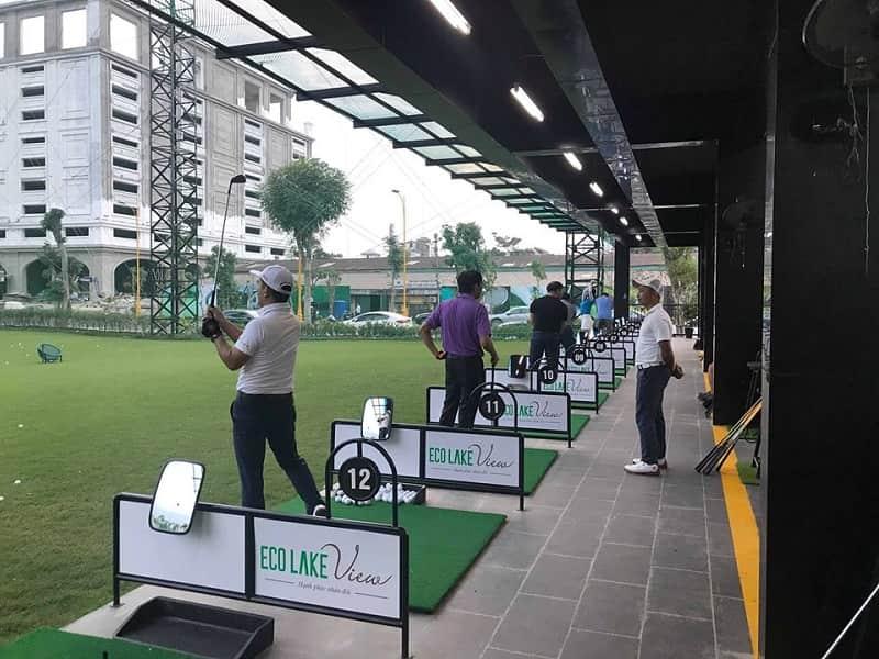 Sân tập golf Đại Từ sở hữu trang thiết bị hiện đại làm hài lòng ngay cả những du khách khó tính nhất