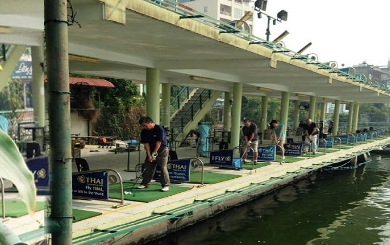 Sân tập golf Hồ Tây mang đến trải nghiệm thú vị cho người chơi